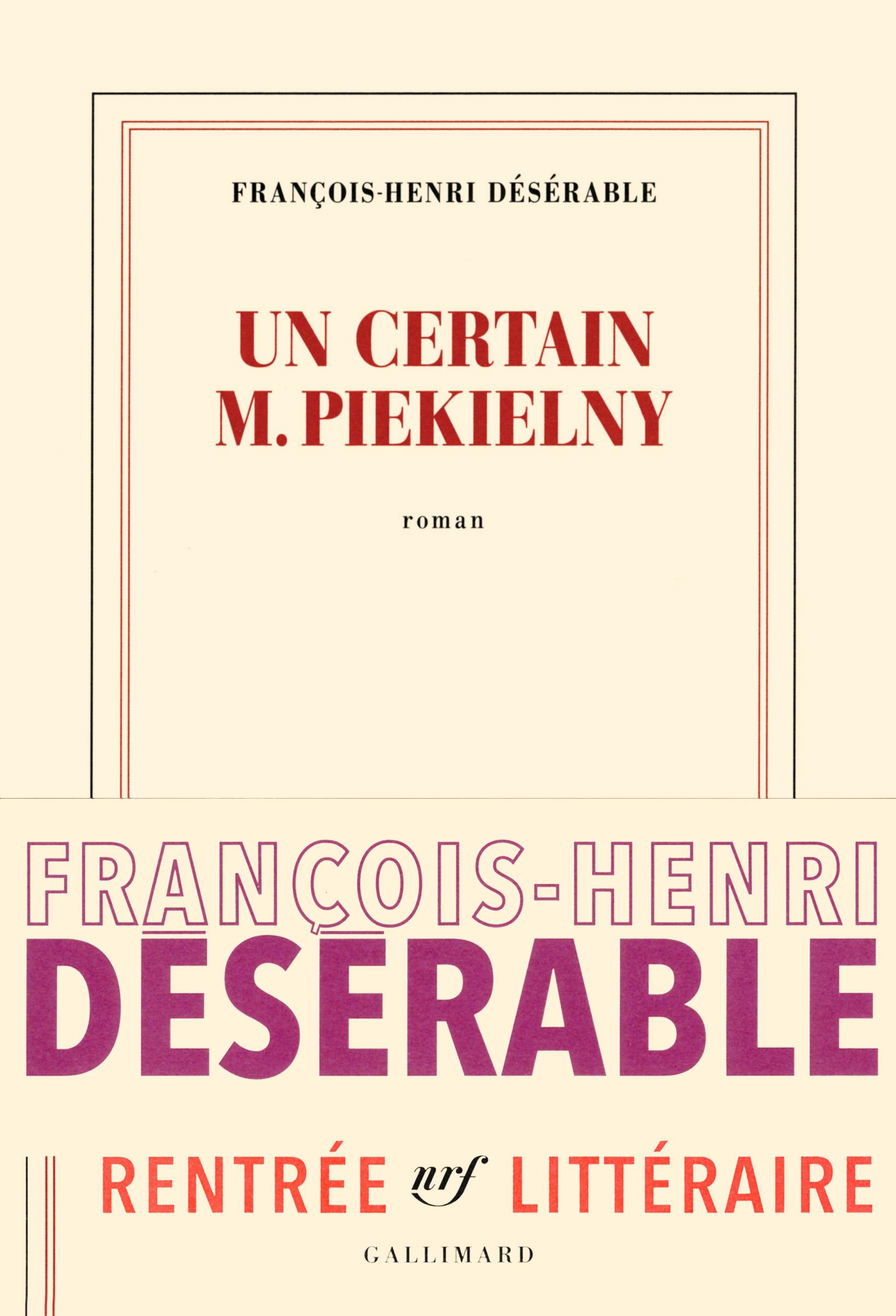 Un certain M.Piekielny