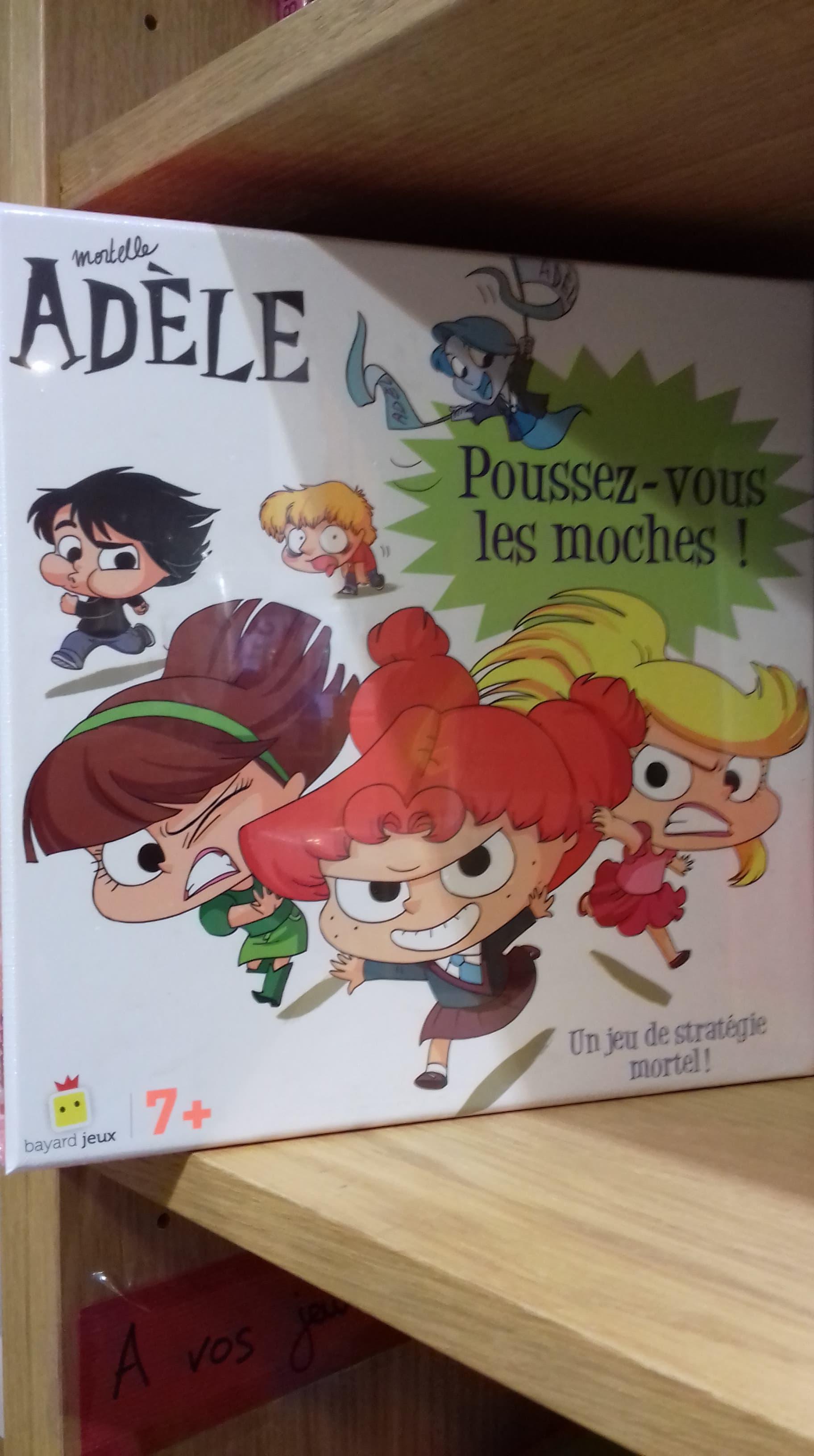 Boite jeu Mortelle Adèle - Bayard - 19,90€