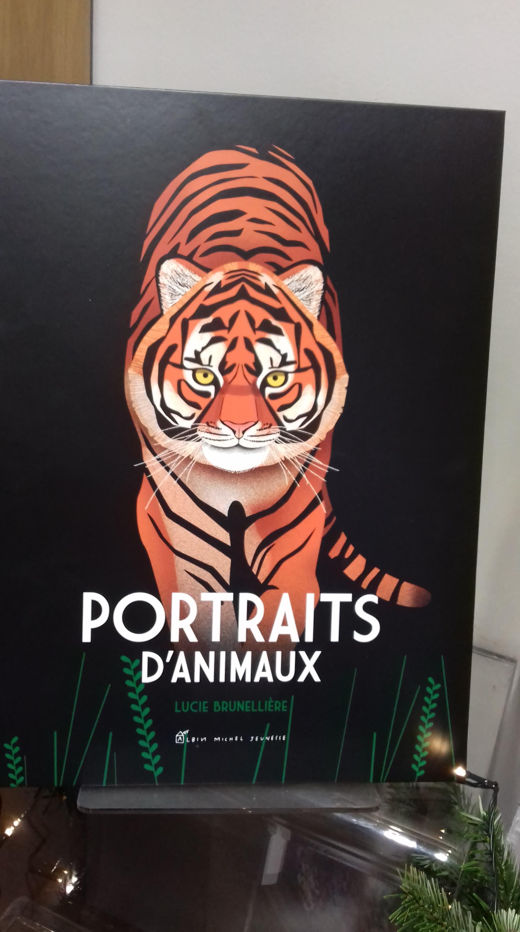 Portraits d'animaux - Edition Albin Michel - 20€