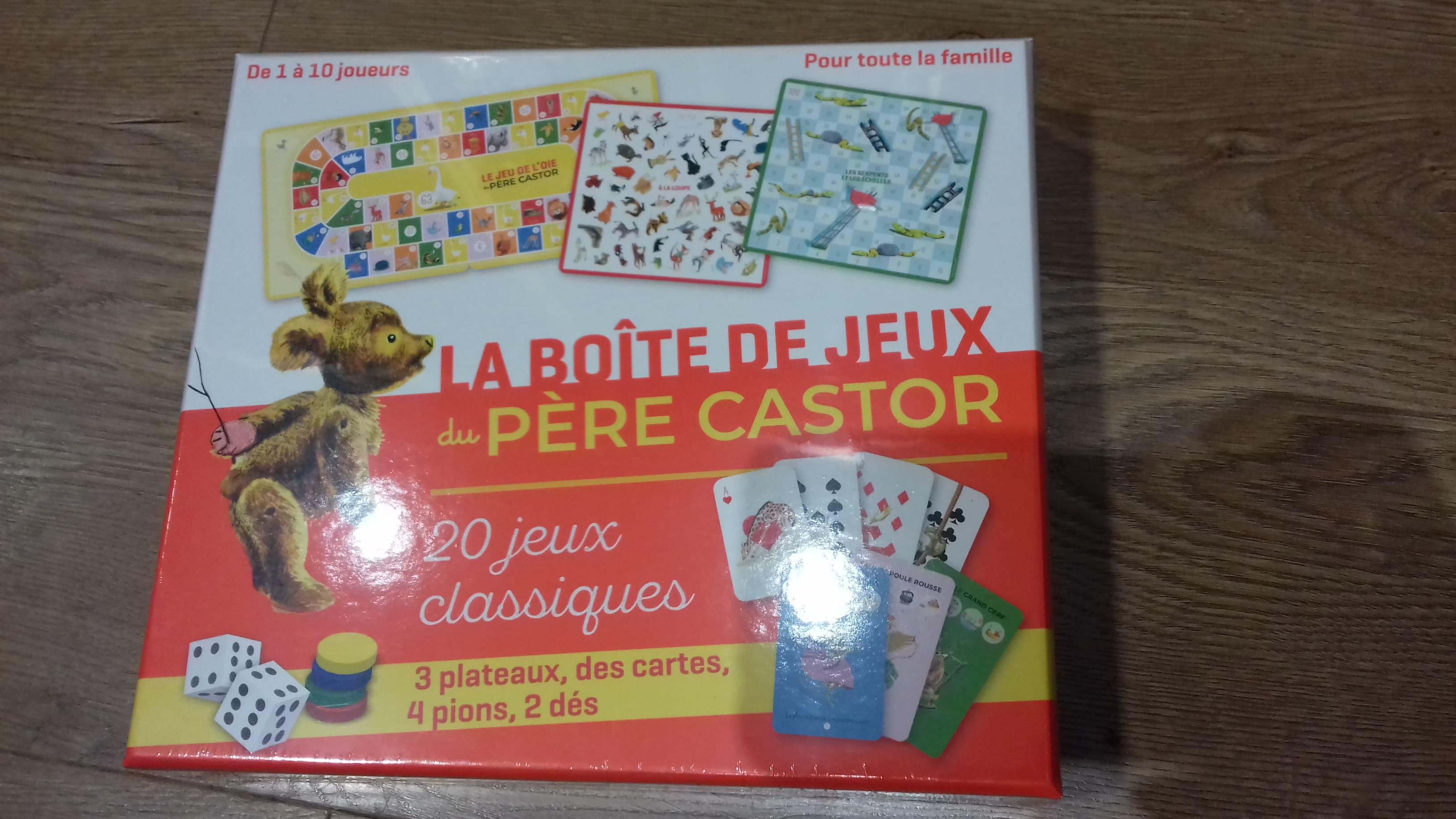 Boite jeux du Père Castor - 19,90€